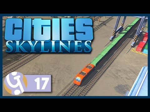 🏡 Cargo Train Depot | Let's Play Cities: Skylines #17