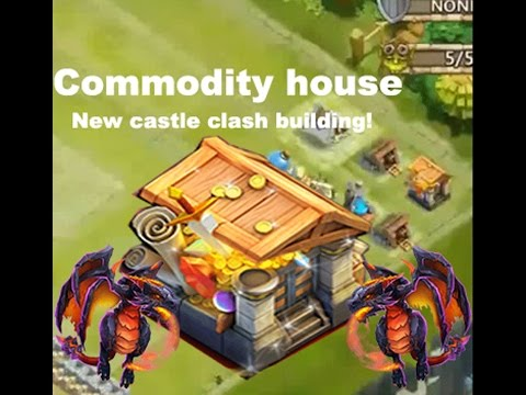 Castle Clash Commodity House /Warehouse! New Building Update