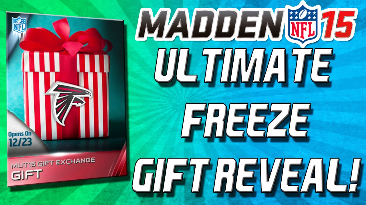 ultimate freeze gifts madden 17
