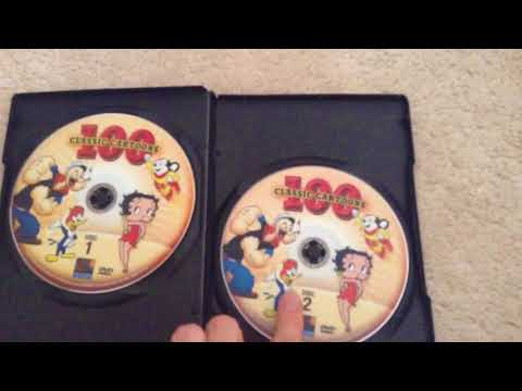 100 Classic Cartoons DVD Overview