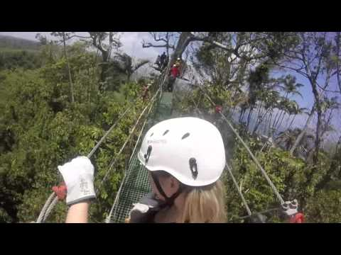 Zip Line Vanuatu - Full HD - GoPro