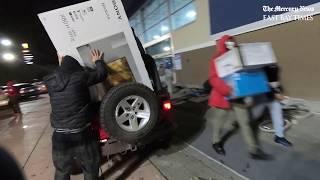 Looters ravage Best Buy during Day 2 of George Floyd protests