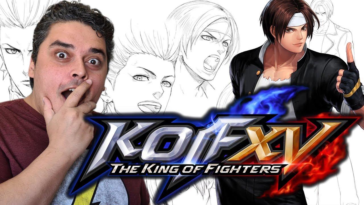 The King of Fighters XV - Novidades Vindo Aí! (FINALMENTE!)