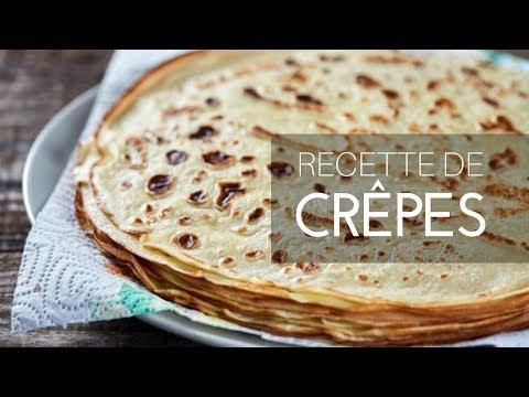♡-recette-de-pâte-à-crêpes-sans-oeuf♡-♡وصفة-كريب-بدون-بيض♡