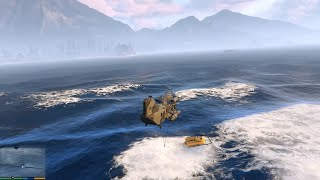 GTA V (PC) - The Merryweather Heist (Off-Shore) - Mission GAMEPLAY (1080p 60 fps)