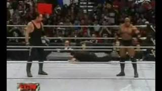 Undertaker Scare Bobby Lashley and The Referre