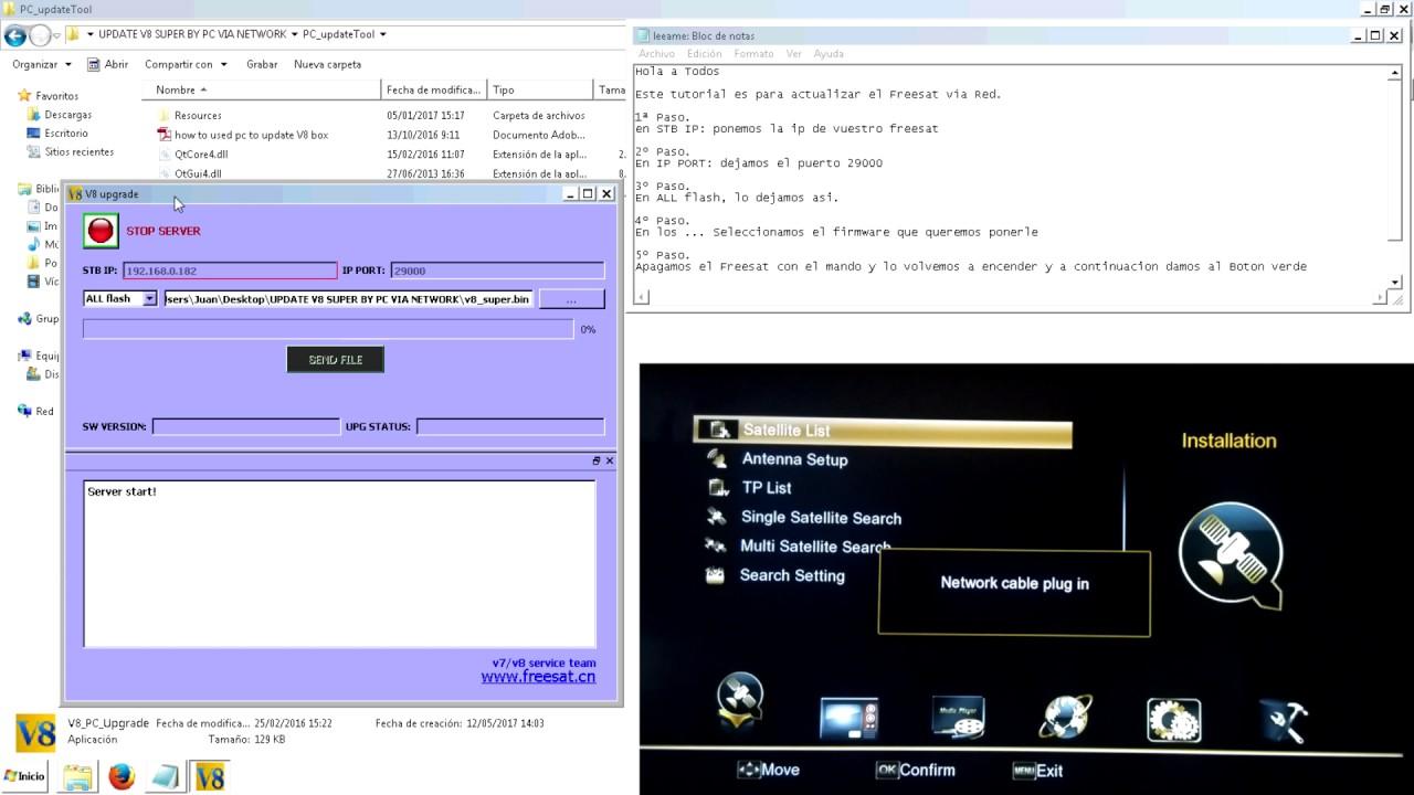 Openbox V8s Clone Firmware