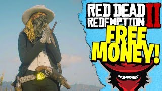 GIVING FREE MONEY TO STRANGERS IN RED DEAD REDEMPTION 2 ONLINE   RDR2 FREE MONEY!