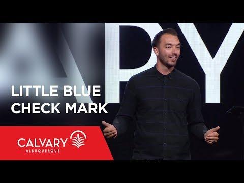 Little Blue Check Mark - 2 Corinthians 11:4 - Jesse Lusko