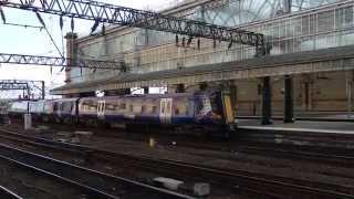 スコットレイル クラス380 グラスゴー中央駅発車 ScotRail Class 380