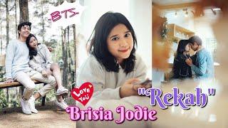Music video Brisia JodieRekahBehind the scene