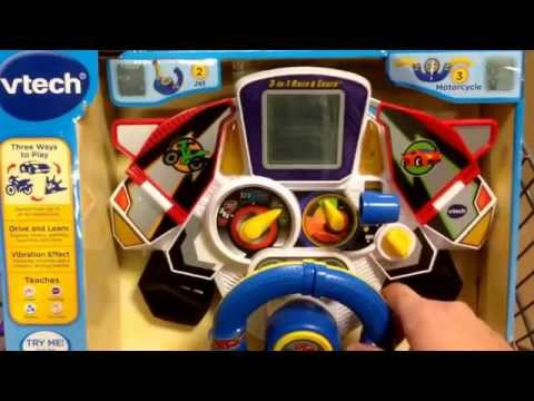 VTECH 3in1 Race & Learn Toddler Toy  Toy Review