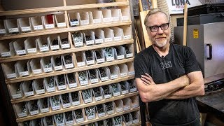 Adam Savage39s One Day Builds Workshop Hardware Storage