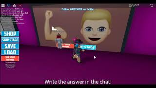 Roblox Guess The Emoji 2019 part 2 -check desc. for whole answer-