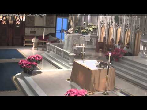 The Baptism of the Lord Sunday Mass 1/10/2016
