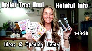 Dollar Tree Haul/ All New Grea…