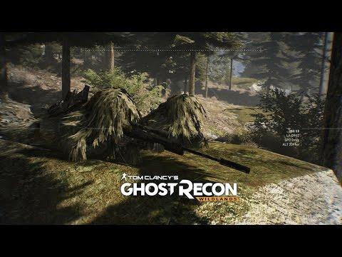 Ghost Recon Wildlands: Immersive Sniper Team - NO HUD