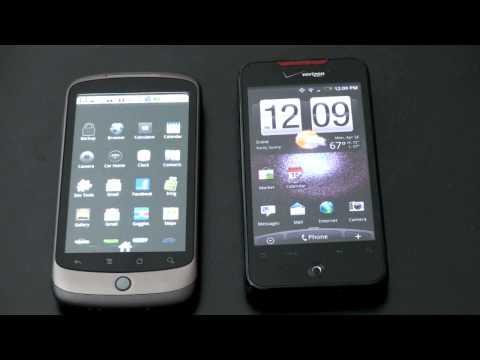 HTC Droid Incredible Vs. Google Nexus One