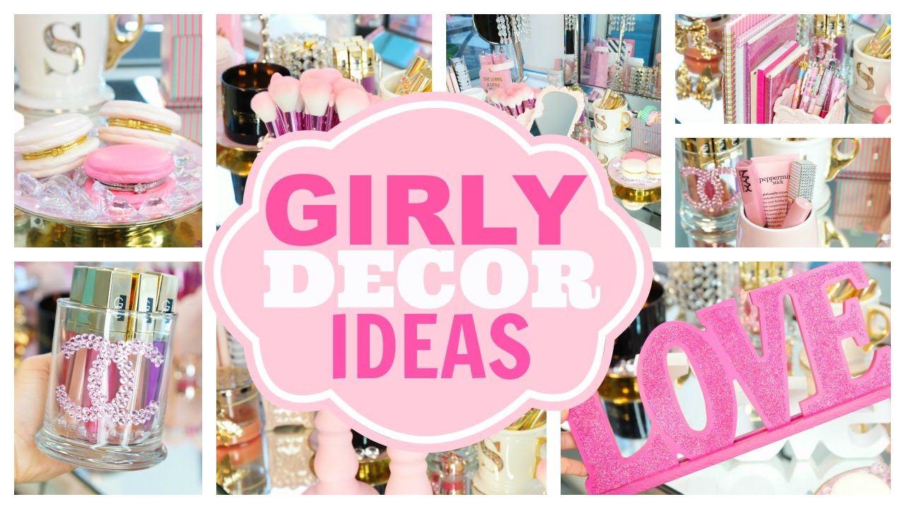 girly office. Girly Decor Ideas For Beauty Rooms And Office Space - SLMissGlam♥♥ YouTube