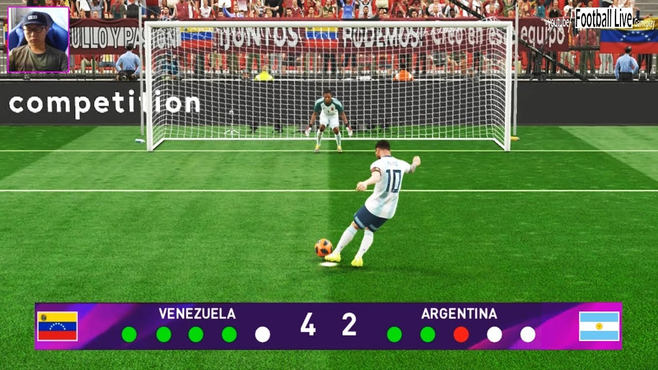 PES 2019 | VENEZUELA vs ARGENTINA | Penalty Shootout
