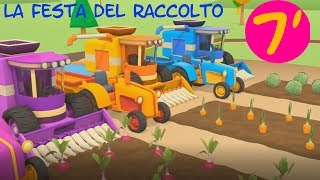 La festa del raccolto con Leo e i suoi amici trattori - comp...