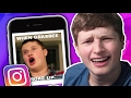 REACTING TO INSTAGRAM EDITS OF ME
