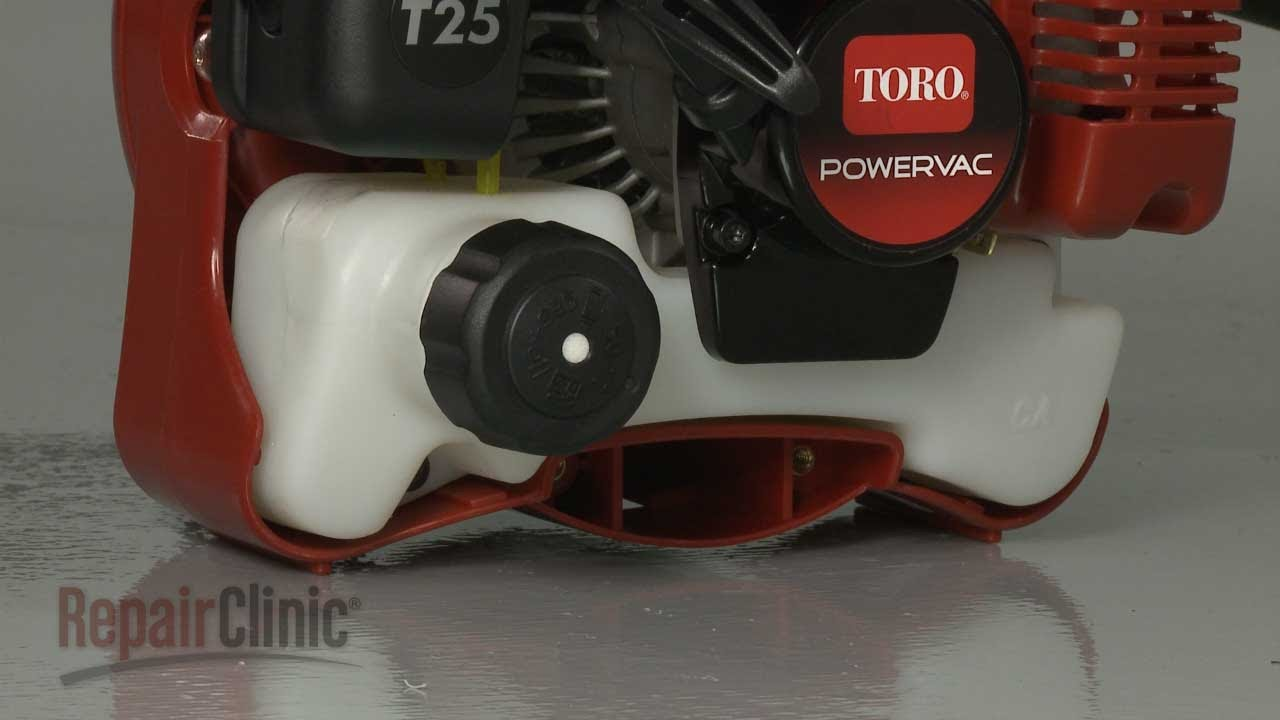 Toro Leaf Blower Fuel Tank Kit Installation 308342006 Youtube