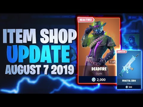 Fortnite Item Shop Today [07.08.2019 - 7th August 2019] Fortnite Battle Royale