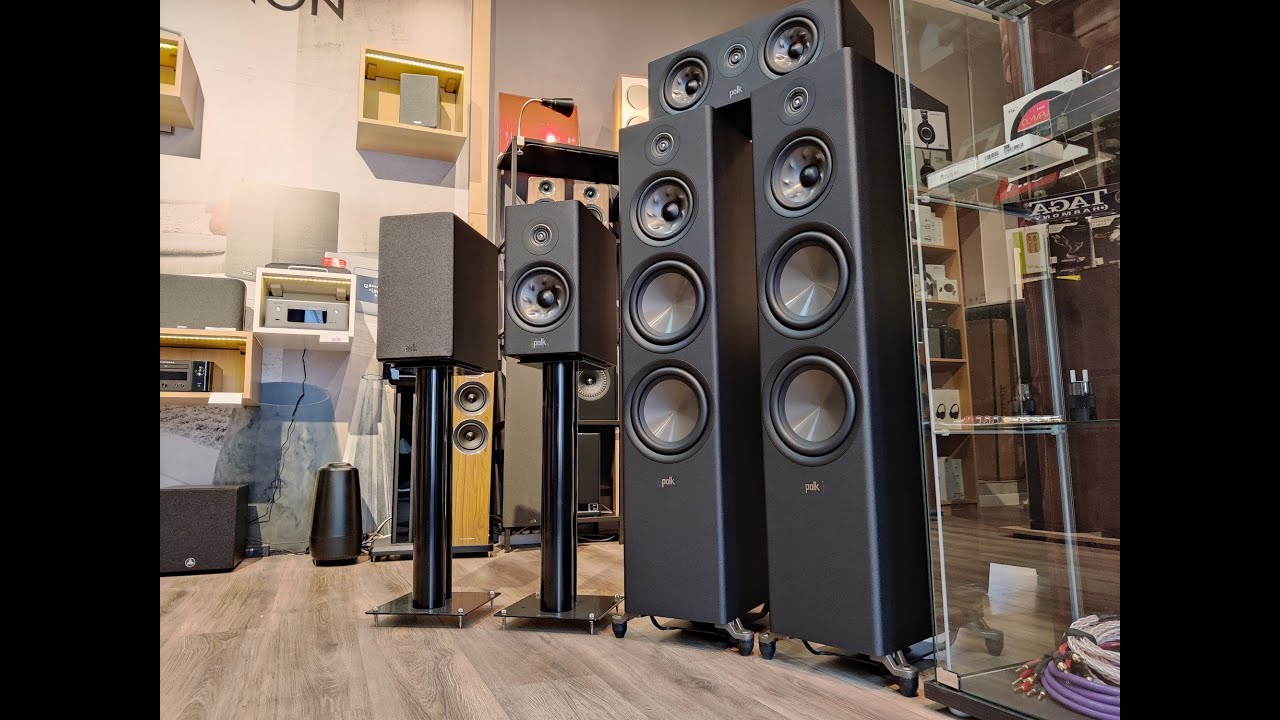 Download By request: POLK Audio R700 soundtest