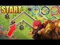 Clash of clans Olympics!! Who's the fastest troop in CoC? | Clash Olympics 2017 Fastest  troop!