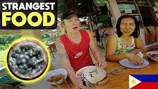 ICELANDER EATS BIZARRE GINAMOS In The Province with Farm Filipina (Masaraaap