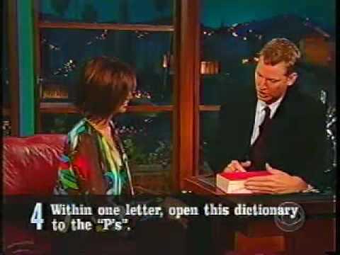 Kilborn's 5 Questions 2002.06.18 Catherine Bell