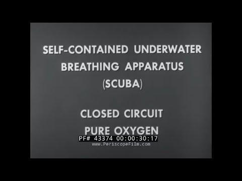 U S  NAVY CCUBA CLOSED CIRCUIT UNDERWATER BREATHING