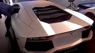Lamborghini Aventador at Lamborghini Las Vegas