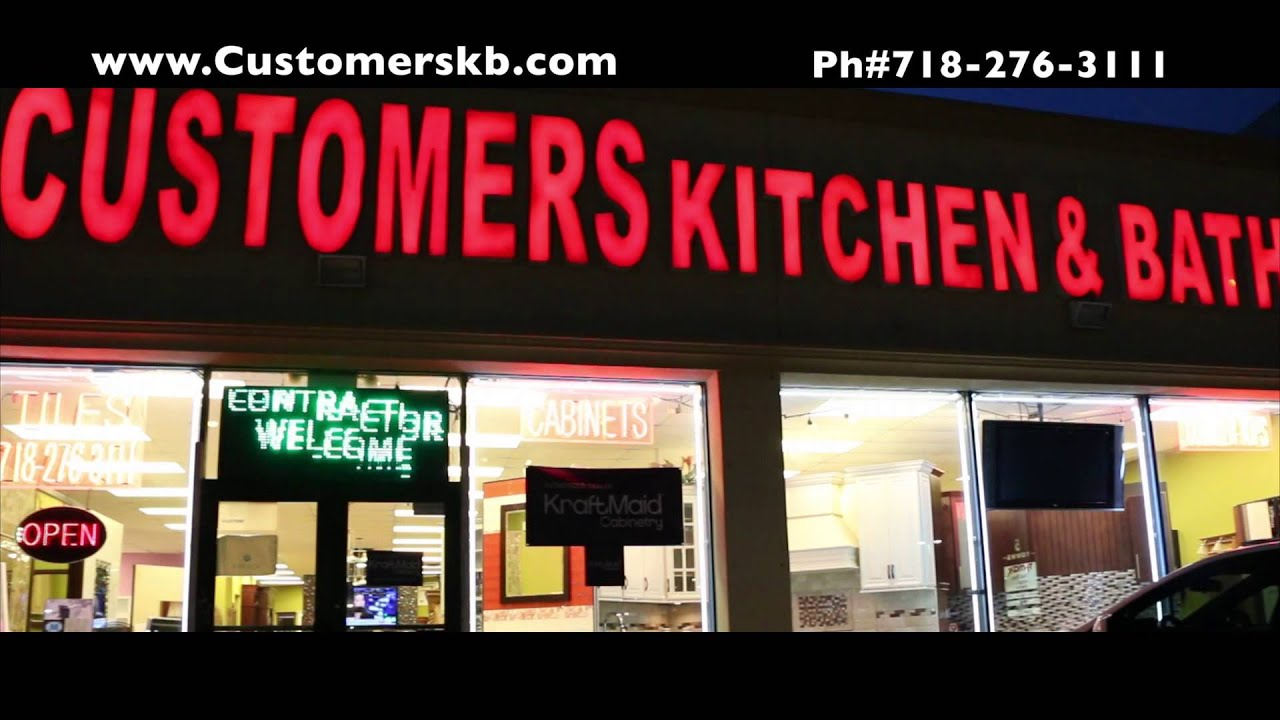 Kitchen Cabinets Queens Ny kitchen cabinets, tiles & vanities showroom queens, ny - youtube