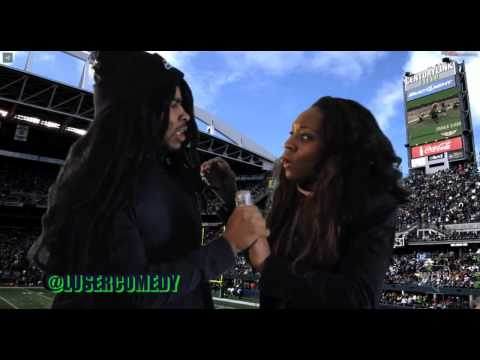 LUSER COMEDY Richard Sherman Blows up on Pam Oliver
