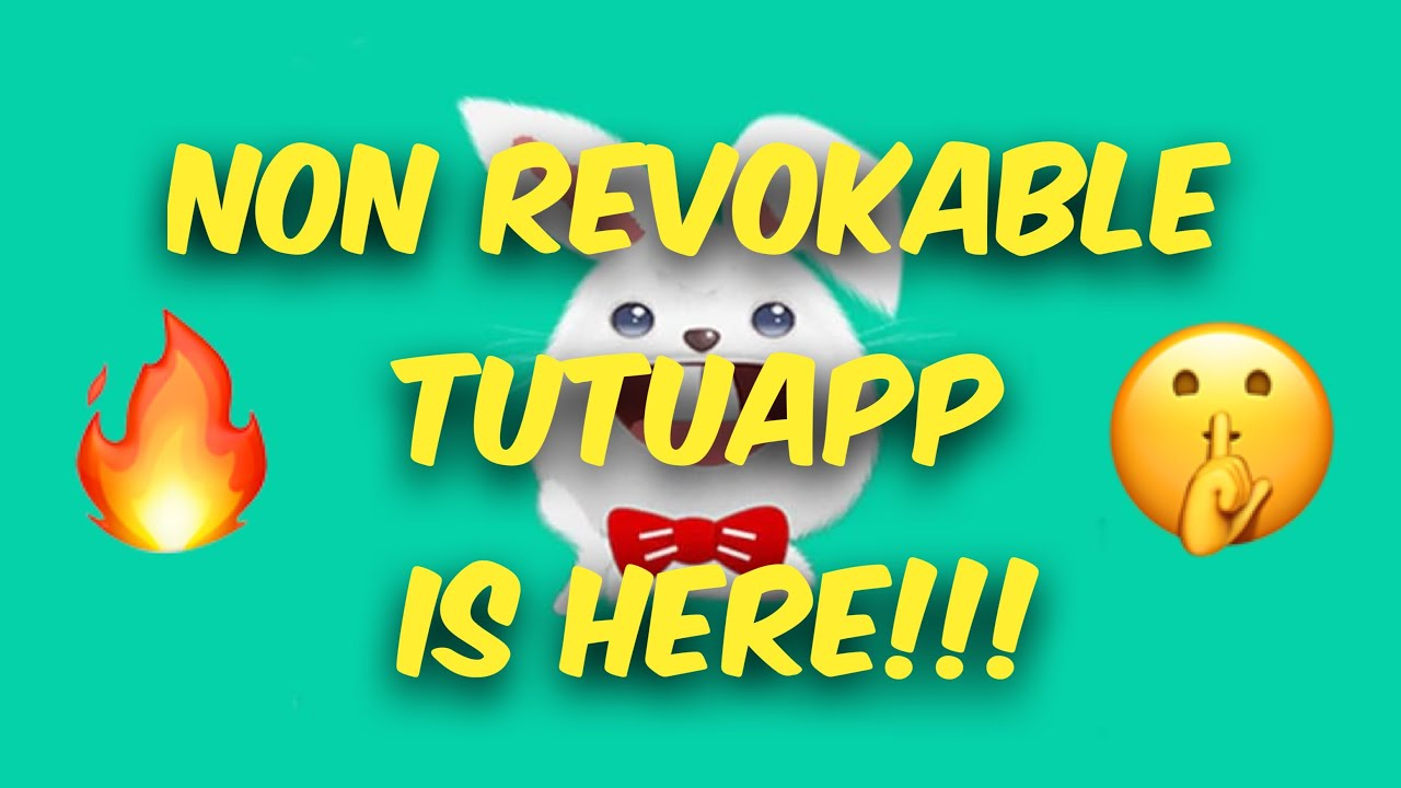 NON REVOKABLE TUTUAPP IS HERE!! SPOTIFY ++ / YOUTUBE ++ / INSTAGRAM ++ 100%  WORKING!