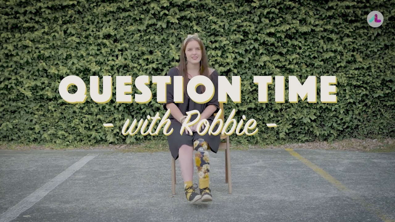 Question Time with Robbie