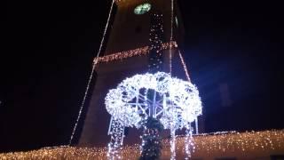 Brasov Aranjament de Craciun in Piata Sfatului, 7 decembrie 2014