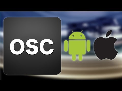 Touch osc -Traktor - Tutorial connection Android - Apple controller  midi WiFi network