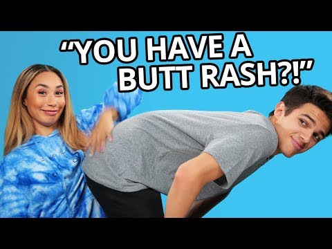 2 Truths and 1 Lie  ft MyLifeasEva and Brent Rivera  Brent vs Eva