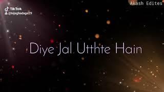 Jalte Diye WhatsApp lyrics stutas video black screen stutas video