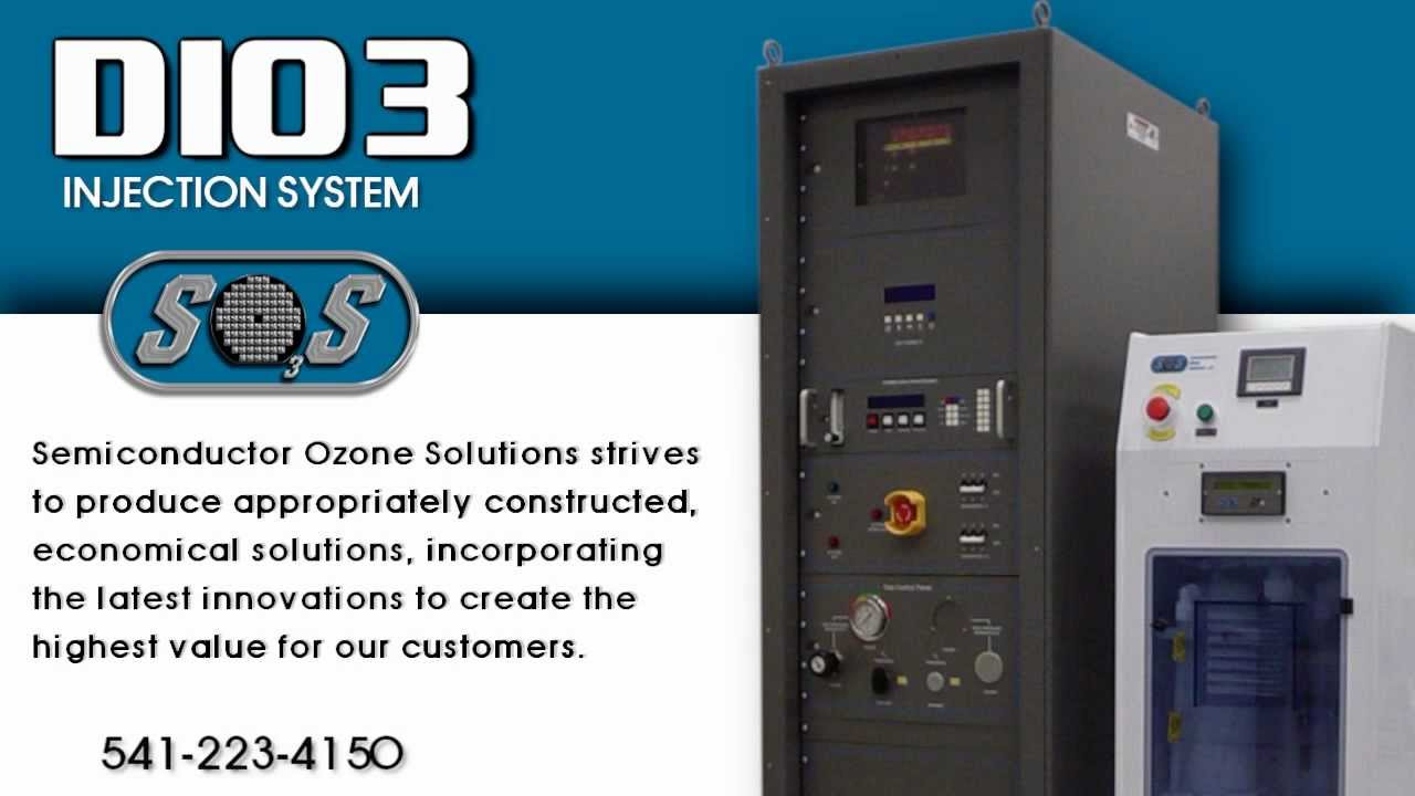 DIO3 INJECTION SYSTEM from Semiconductor Ozone Solutions