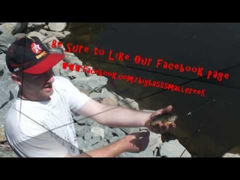 Big Bass Small Creek California Canal Fishing Episode 2