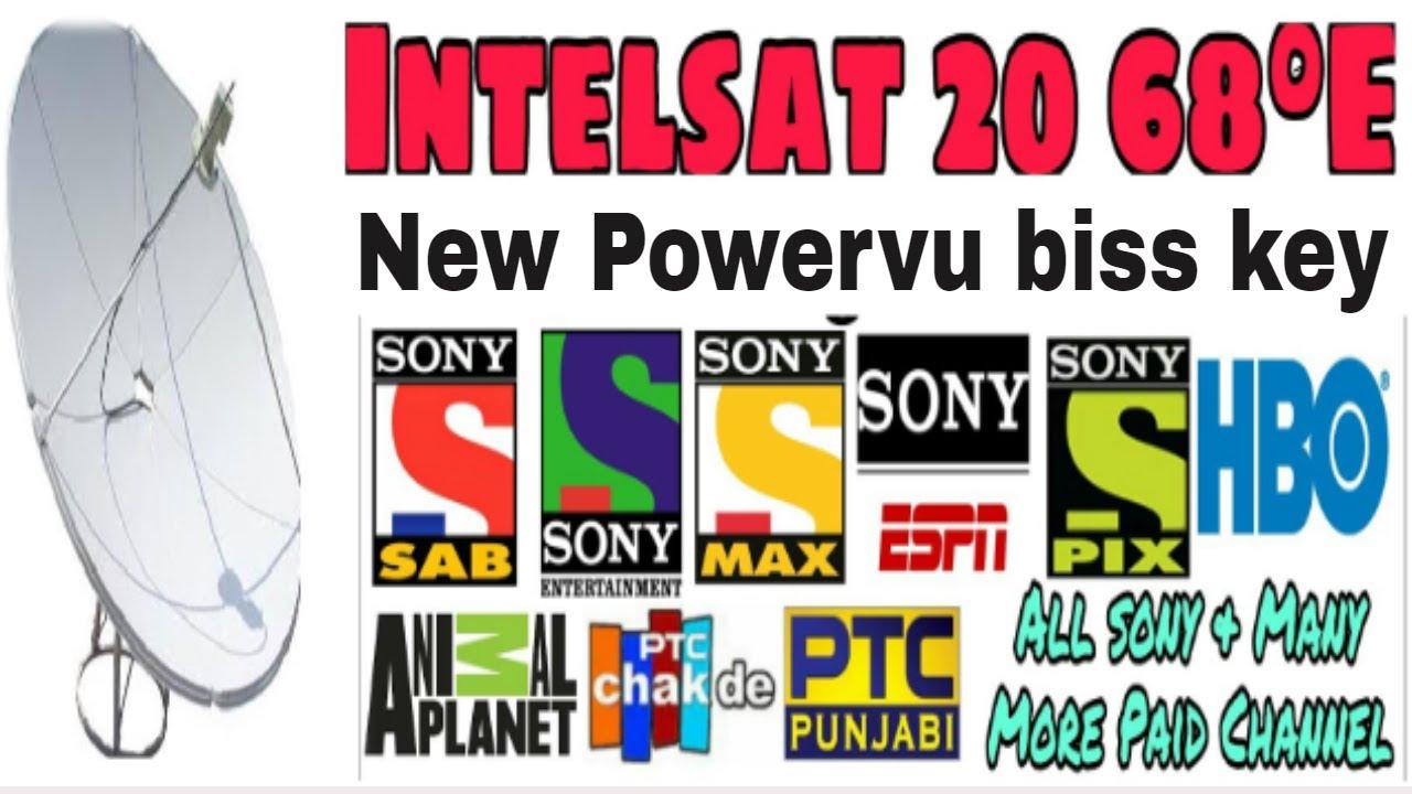 Sony Network New Update PowerVu On Intelsat 20 68E