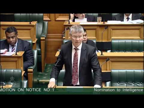 Nomination to Intelligence and Security Committee - Video 2