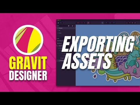 How to Export Assets in Gravit Designer