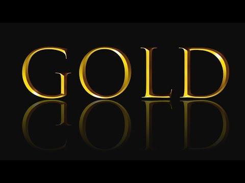 Photoshop CC Tutorial - Gold Text Effect