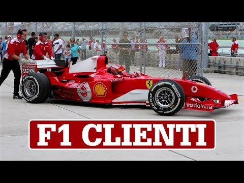 Ferrari F1 Clienti | EPIC F1 Cars on track at Homestead-Miami