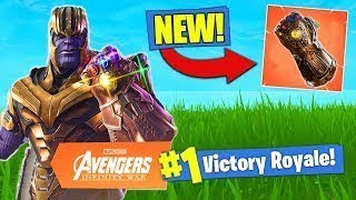 NOUVEAU INFINITY GAUNTLET MODE!! Gratuit V-Bucks Giveaway!//Fortnite Battle Royale sur PS4